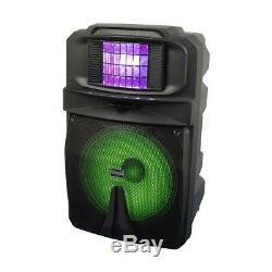 Vocopro Karaoke Thunder-1500 15 Powered Dj / Karaoke Party Président, 1000w De Pointe