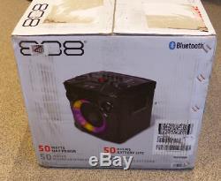 Voxx 808 Hex Encore Parti 50w Système Sans Fil Haut-parleur Sp480bk